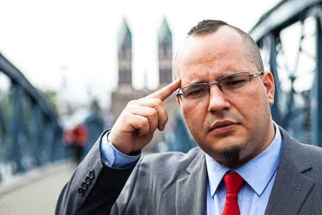 Markus Bortoli bewirbt sich um Bürgermeisteramt in Müllheim