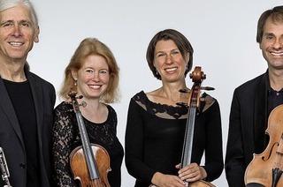 Das Ardinghello-Quartett konzertiert im Hofgut Rössle in Breitnau