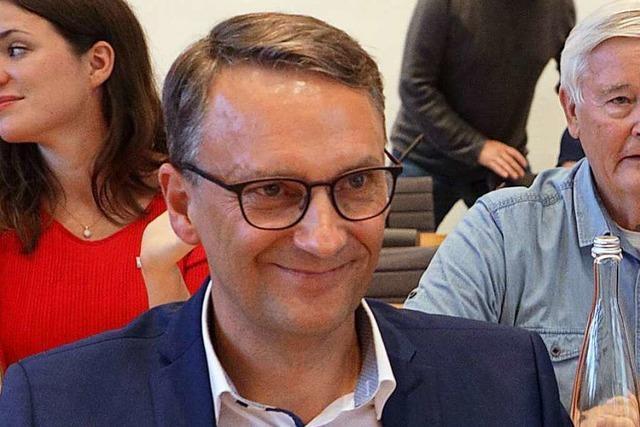 Markus Ibert holt im ersten Wahlgang die meisten Stimmen