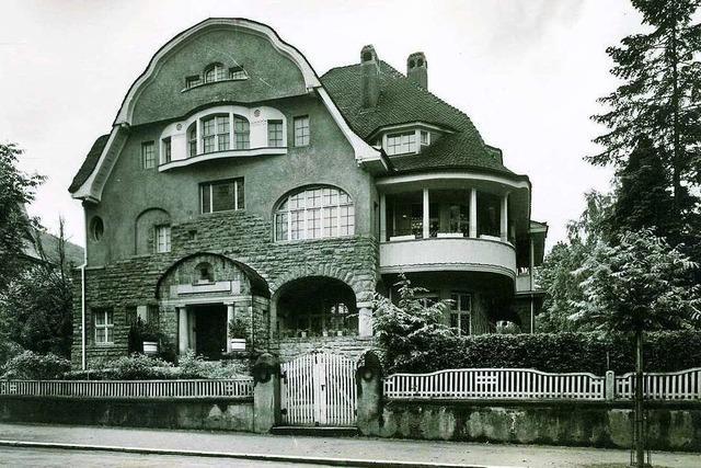 In der Maria-Theresia-Straße in der Wiehre stand einst die Villa des Ludwig Merckle
