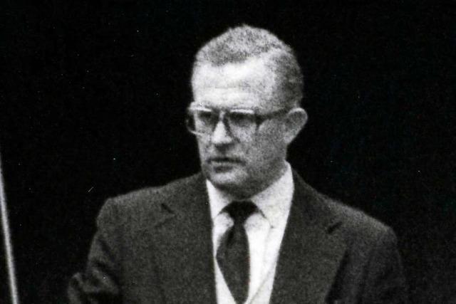 Richard Fehrenbach war der Schöpfer des ersten Freiburger Planetariums