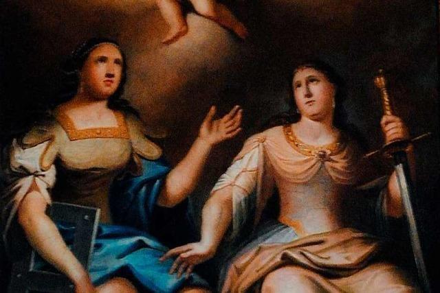 Die Söldener Pfarrkirche verehrt gleich drei Heilige