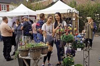 Kunsthandwerkermarkt in Holzen