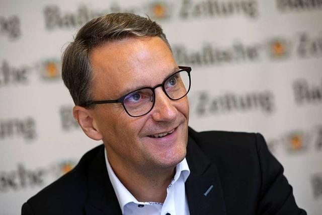 OB-Kandidat Markus Ibert: