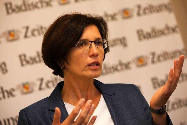 OB-Kandidatin Christine Buchheit: