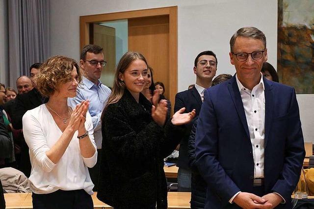 Liveticker zum Nachlesen: Markus Ibert hat die Oberbürgermeisterwahl in Lahr deutlich gewonnen