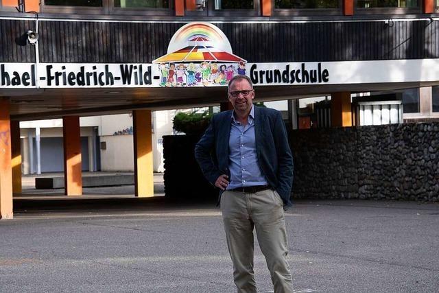 Ortsrundgang durch Müllheim mit Bürgermeisterkandidat Frank Lindstedt