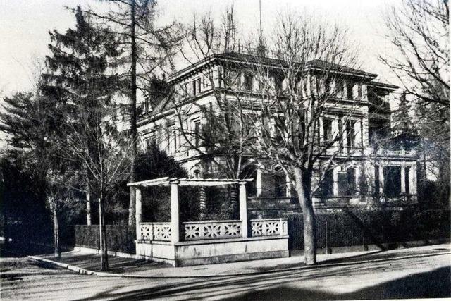 Oscar Mez erbaute 1890 die