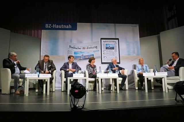 Beim Kandidatentalk in Badenweiler ging's um Themen von Konus-Karte bis Luisenstraße