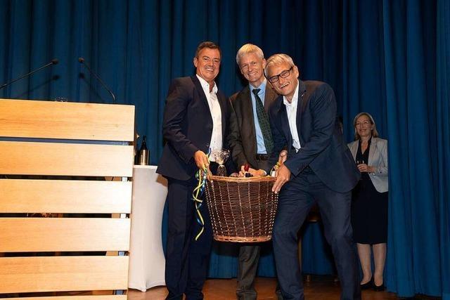 Das sagen die Bürgermeisterkandidaten zum Wahlergebnis von Müllheim