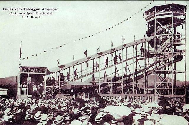 Bei der Freiburger Frühjahrsmesse 1926 verunglückten zwei Menschen tödlich