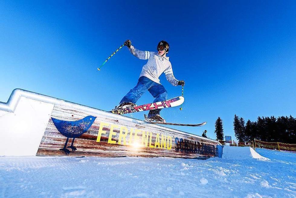 Skilift Winterberg - Schonach im Schwarzwald
