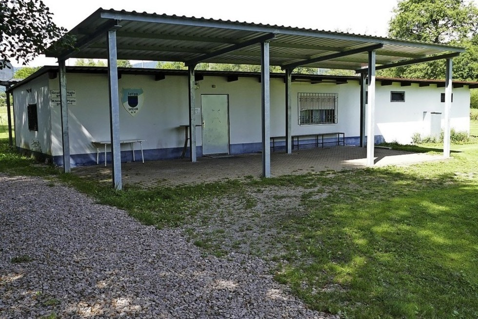 Vereinsheim SpVgg Wehr - Wehr