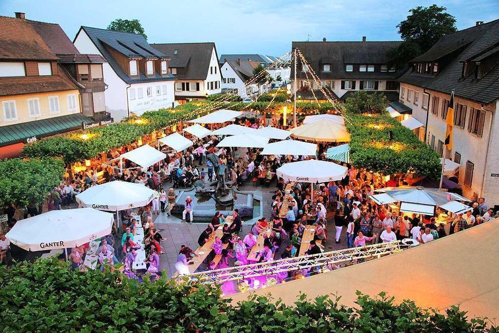 Rathausplatz - Neuenburg am Rhein