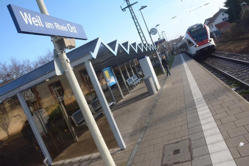 Altweiler Bahnhof (Weil-Ost) - Weil am Rhein