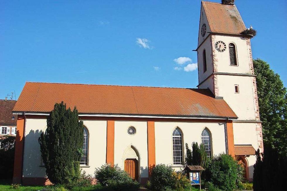 Ev. Kirche Holzen - Kandern