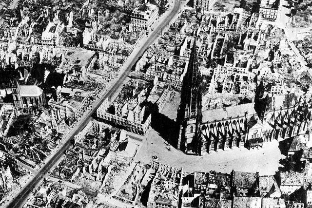 Der Bombenangriff vor 75 Jahren bleibt die traurigste Nacht in Freiburgs Geschichte