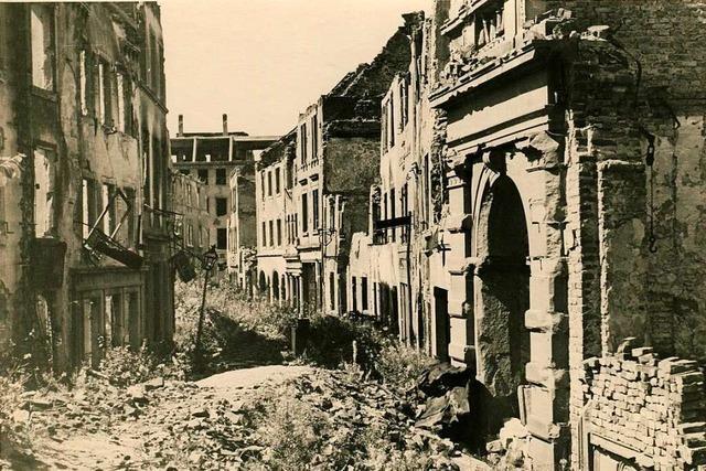 Vier Zeitzeugen erinnern sich an die Freiburger Bombennacht vor 75 Jahren