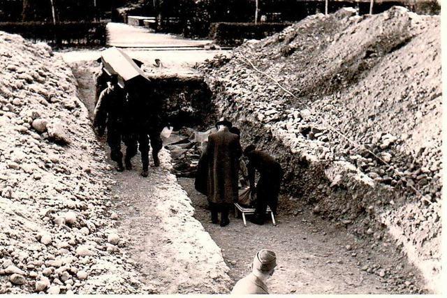 Nach der Bombardierung waren die Freiburger zermürbt und traumatisiert