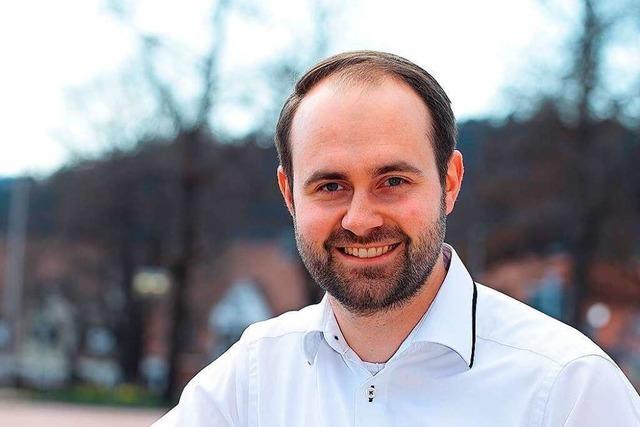 Sebastian Kiss ist der erste Bürgermeisterkandidat für Schallstadt