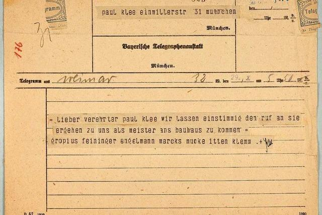 Das Telegramm