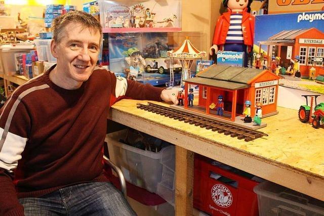 Jedes Emmendinger Kind hat schon nach Andreas Männers Playmobil-Hütte gefragt