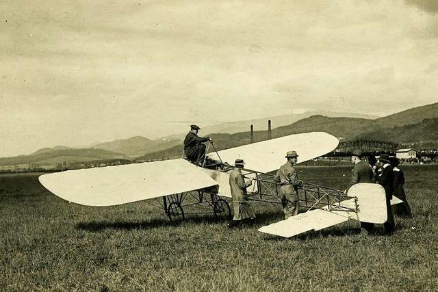 Die ersten Freiburger Fliegertage fanden im Juli 1910 statt