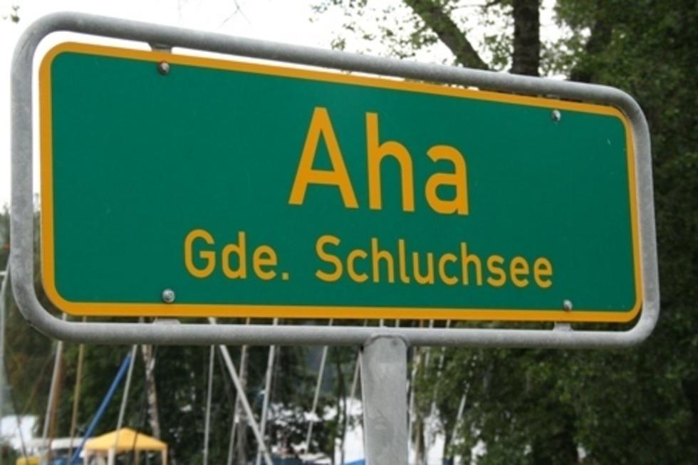 Ortsteil Aha - Schluchsee