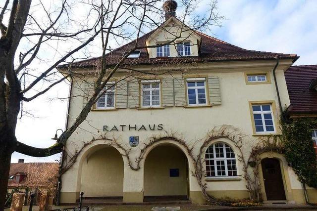 Drei Kandidaten treten bei der Bürgermeisterwahl in Schallstadt an
