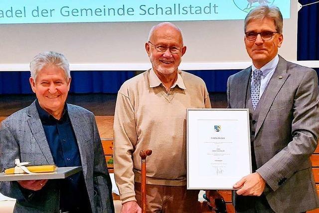 Großer Andrang beim letzten Schallstadter Bürgerempfang mit Bürgermeister Jörg Czybulka