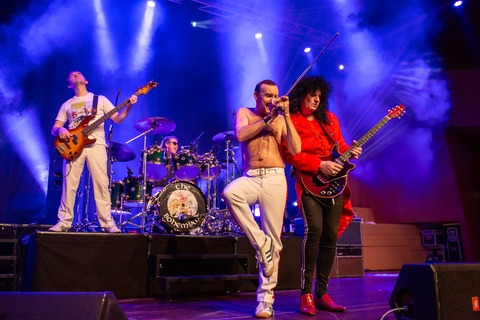 A NIGHT OF QUEEN - Best Of Queen - perf. by The Bohemians - Eberbach - 17.01.2021 20:00