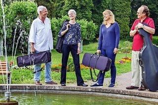 Mit Streich-Quartett ins neue Jahr