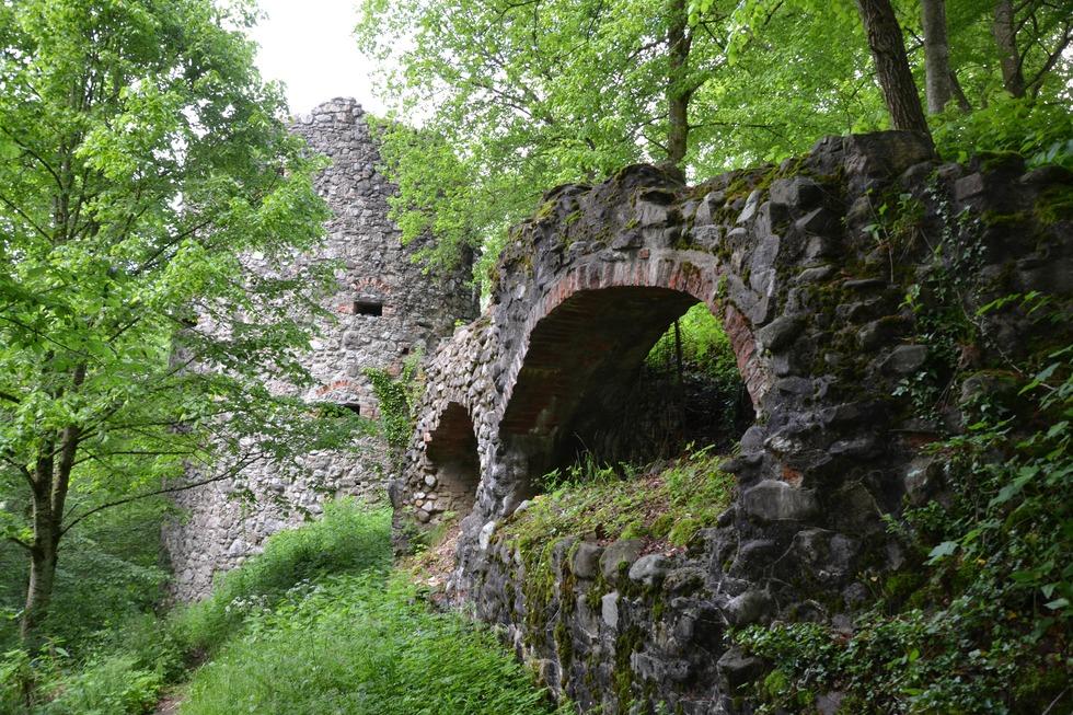 Burgruine Ratzenried - Argenbühl