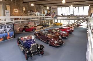 Deutsches Automuseum Schloss Langenburg