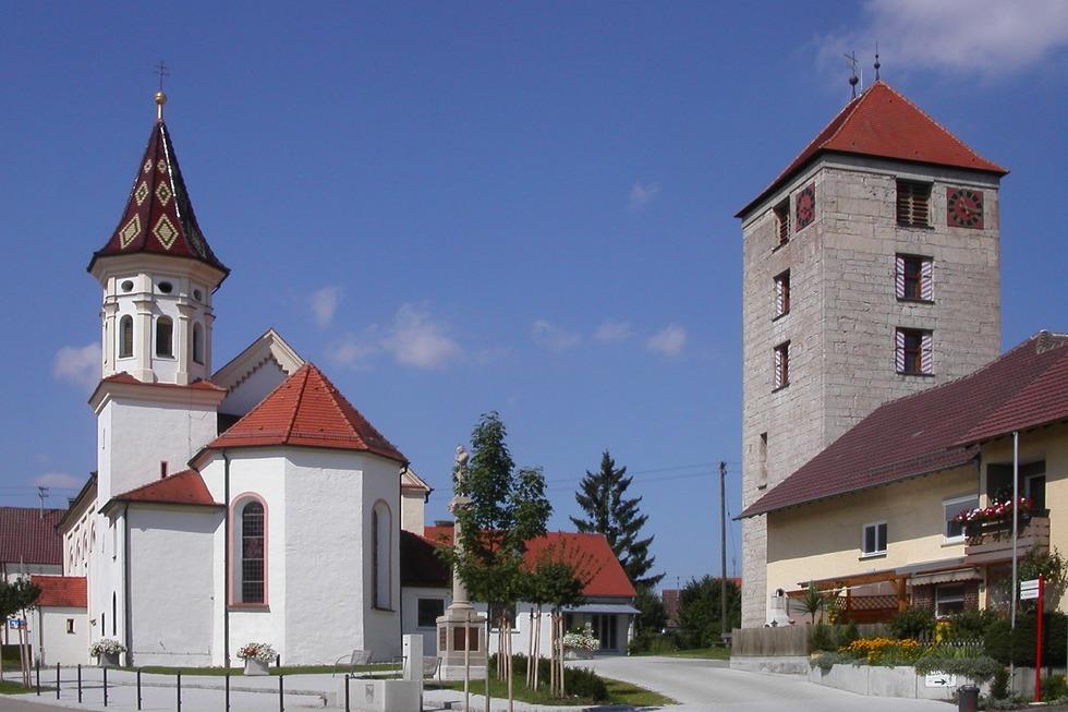 Römerturm Emerkingen - Emerkingen