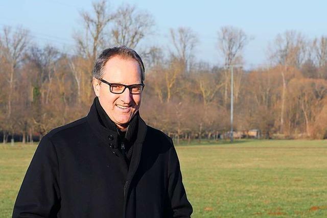 Schallstadter Bürgermeisterkandidat Thomas König: