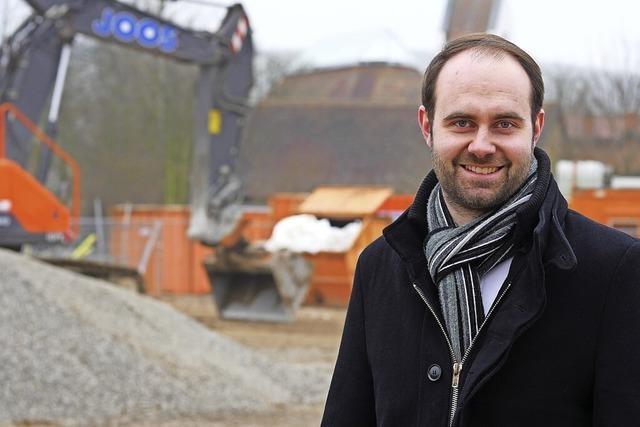 Schallstadter Bürgermeisterkandidat Sebastian Kiss: