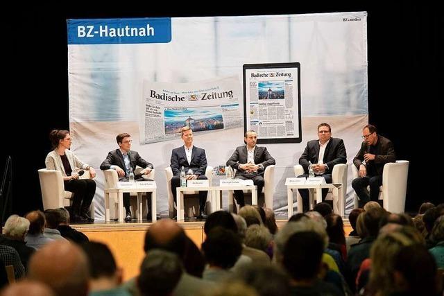 Großes Interesse am BZ-Kandidatentalk zur Heitersheimer Bürgermeisterwahl