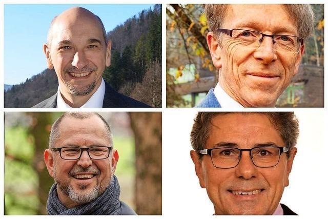 Die BZ lädt am Mittwochabend zum Talk mit den Buchenbacher Bürgermeister-Kandidaten