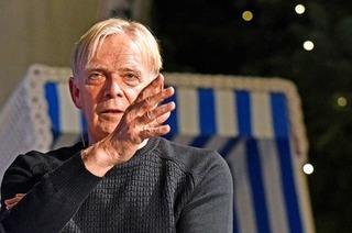 Volker Finke und Martin Horn kommen zur Late-Night-Show im Theater