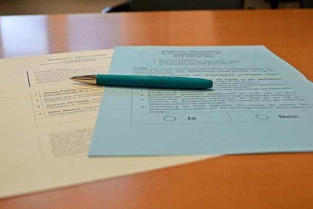 Was man zum großen Wahltag in Heitersheim wissen sollte