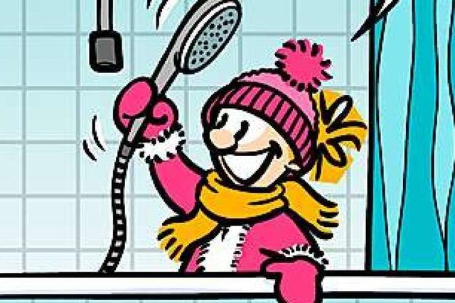 Lucy Backfisch: Kalte Dusche
