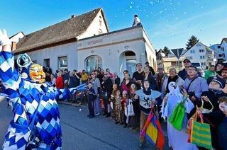 Am Wochenende ziehen 2200 Narren durch Freiburg-St. Georgen