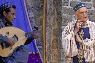 Martin Lunz und Shaffan Soleimann, Oud (arabische Laute) in Badenweiler