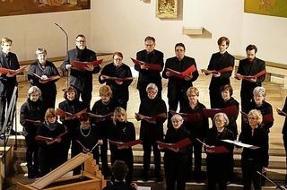 """Kirchenkonzert """"Salve Regina"""" mit Kammerchor Rheinfelden in Warmbach"""