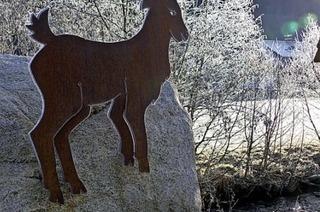 Wurzelwege mit Weitblick bietet der Menzenschwander Geißenpfad im Winter