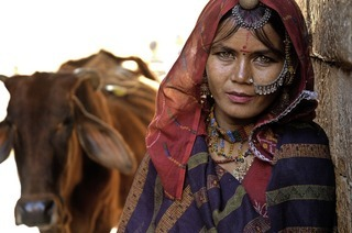Multimedia-Reportage fder Reihe Explora über Indien von Christina Franzisket und Nagender Chhikara im Volkshaus Basel