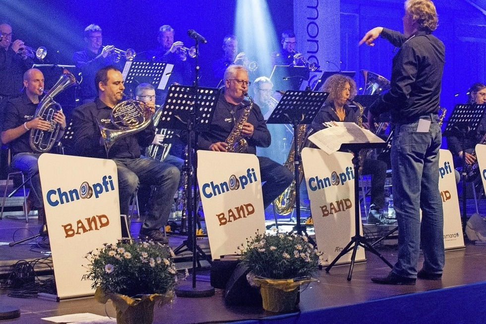 Chnopfi Band spielt im Weiler Kesselhaus Jazzstandards, Rock, Funk und Latin - Badische Zeitung TICKET