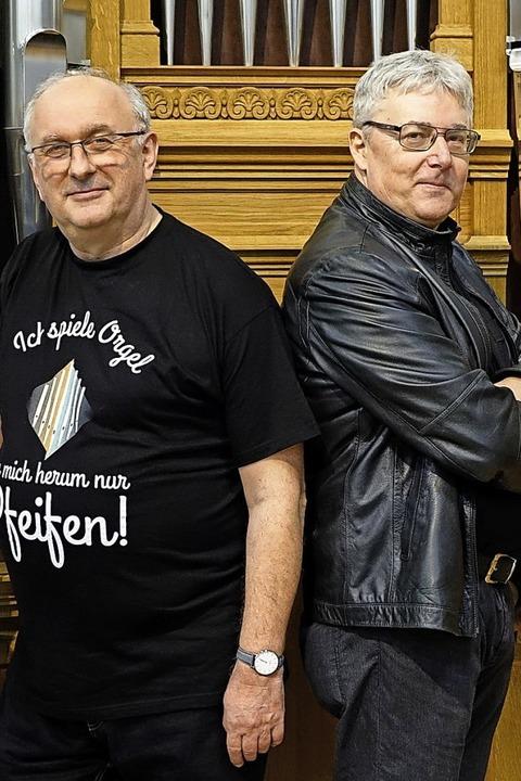 Kabarettist Rudolf Habringer und Linzer Domorganist Wolfgang Kreuzhube in St. Peter, - Badische Zeitung TICKET