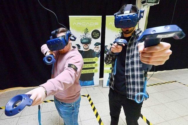 Arcade Virtual Reality Lounge